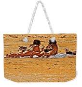 The Suntan Girls Weekender Tote Bag