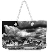 The Supes In Black And White  Weekender Tote Bag
