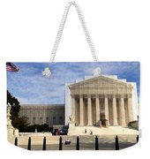 The Supreme Court Facade  Weekender Tote Bag