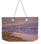 The Swans On Winter Solstice Weekender Tote Bag