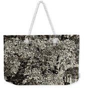 The Swinging Tree Sepia Weekender Tote Bag