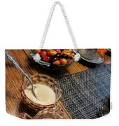 The Table Is Set - Y'all Come Weekender Tote Bag