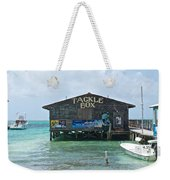 The Tackle Box Sign Weekender Tote Bag