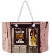 The Tailor Weekender Tote Bag