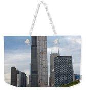 The Tall Buildings Weekender Tote Bag