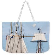 The Tall Ships Weekender Tote Bag