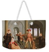 The Taming Of The Shrew Weekender Tote Bag