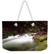 The Tananamawas River Weekender Tote Bag