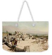 The Taos Pueblo Weekender Tote Bag