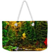 The Tarn Paint Version Weekender Tote Bag