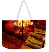 The Tavern Fire Weekender Tote Bag