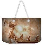 The Temple Dragon Weekender Tote Bag