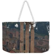 The Temple Of Castor And Pollux Weekender Tote Bag