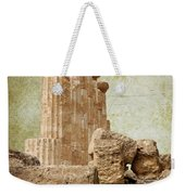 The Temple Of Heracles Weekender Tote Bag