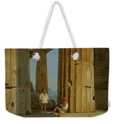 The Temple Of Poseidon. Paestum Weekender Tote Bag