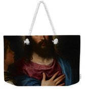 The Temptation Of Christ Weekender Tote Bag