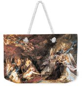 The Temptation Of St. Anthony Weekender Tote Bag