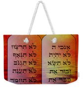 The Ten Commandments - Featured In Comfortable Art Group Weekender Tote Bag