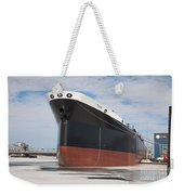The Texas Cargo Ship Weekender Tote Bag