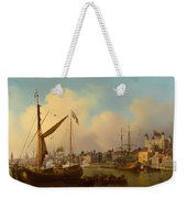 The Thames And Tower Of London On The King's Birthday Weekender Tote Bag