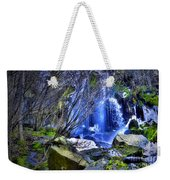 The Thawing Falls Weekender Tote Bag