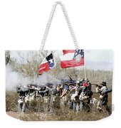 The Thin Gray Line Weekender Tote Bag