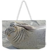 The Thinker - Elephant Seal On The Beach Weekender Tote Bag