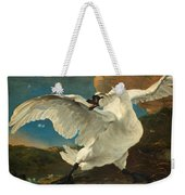 The Threatened Swan Weekender Tote Bag