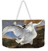 The Threatened Swan Weekender Tote Bag