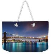 The Three Bridges Weekender Tote Bag