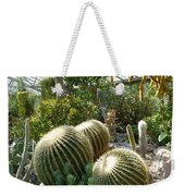 The Three Cacti Weekender Tote Bag