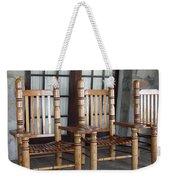 The Three Chairs Weekender Tote Bag