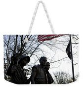 The Three Soldiers - Vietnam War Memorial Weekender Tote Bag
