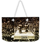 The Thrilla In Toyvilla Weekender Tote Bag by Bill Cannon