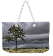 The Thunder Rolls - Storm - Pine Tree Weekender Tote Bag by Jason Politte