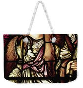 The Tibertine Sibyl In Stained Glass Weekender Tote Bag