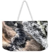 The Tide From Above Weekender Tote Bag