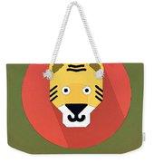 The Tiger Cute Portrait Weekender Tote Bag