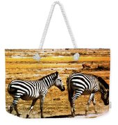 The Tired Zebras Weekender Tote Bag