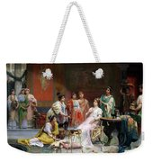 The Toilet Of A Roman Lady Weekender Tote Bag