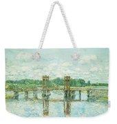 The Toll Bridge New Hampshire Weekender Tote Bag