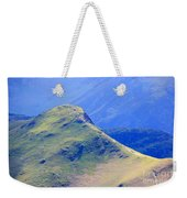 The Top Of Catbells In The Lake District Weekender Tote Bag
