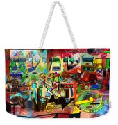 the Torah is aquired with attentive listening 11 Weekender Tote Bag