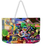 the Torah is aquired with awe 5 Weekender Tote Bag