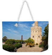 The Torre Del Oro, Gold Tower, Military Weekender Tote Bag