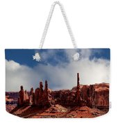 The Totems Monument Valley Weekender Tote Bag