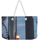 The Tower And The Plaza Weekender Tote Bag