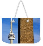 The Tower And The Stack Weekender Tote Bag