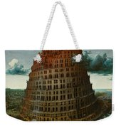 The Tower Of Babel Weekender Tote Bag