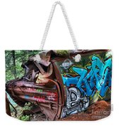 The Train And The Tree Weekender Tote Bag